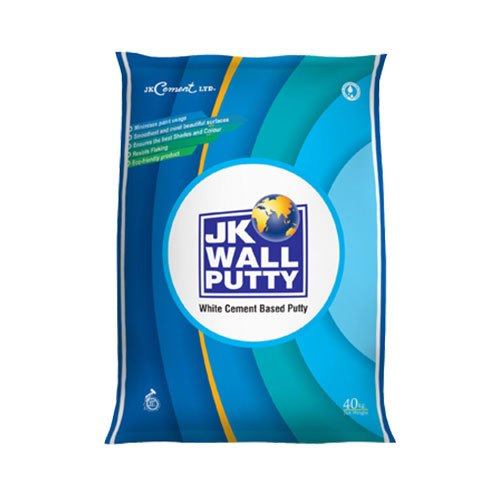 Jk White Cement Based Wall Putty Packaging Size 40kg Rs 480 Bag Id 19223364948