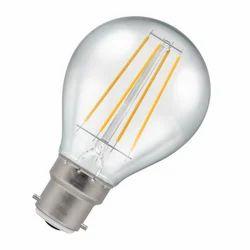 Ceramic LED Filament Bulb, Shape: Round