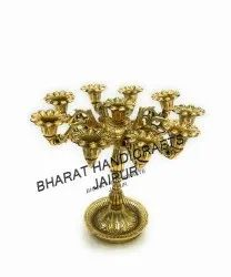 Gold Plated Candle Stand