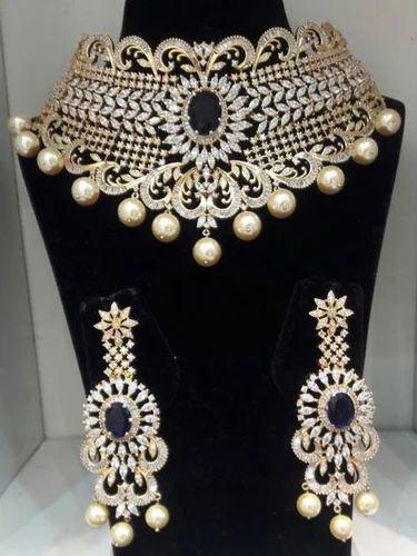 Cz Wedding Sets.Cz Special Collection Czn914 Cz Bridal Necklace Set Manufacturer