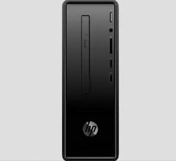 Black HP Slimline Desktop - 290-p0057il