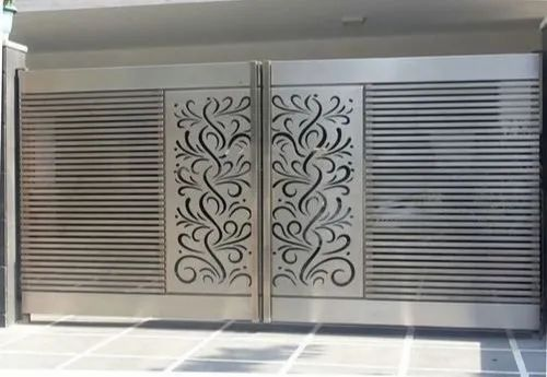 SS Door Laser Cutting Services
