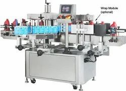 Automatic Lubricant Oil Bottle Sticker Labeling Machine
