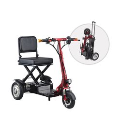 Electric Folding Mobility Scooter with Lithium Battery (EMI Available), Vehicle Model: Em004