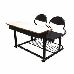 Two Seater School Bench (with out book shelf )