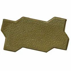 Green Unipaver Tile Moulds