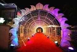 Entrance Decoration, Requriment location