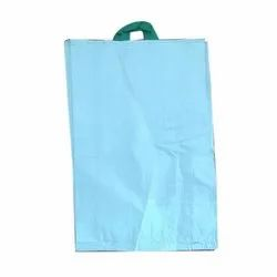 Blue HDPE Woven Handle Bags, for Packaging