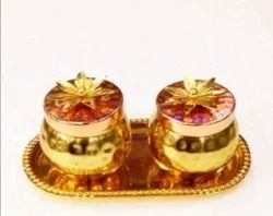 Flower Dry Fruit Jar Set