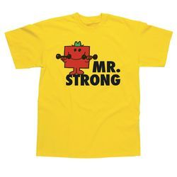 Yellow Kids Printed T-Shirt