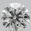 1.27ct Lab Grown Diamond CVD H VVS2 Round Brilliant Cut IGI Certified Stone