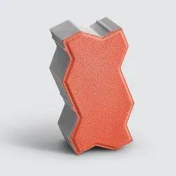 Godrej Tuff 100 mm Zigzag Concrete Pavers