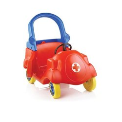 Red Doctor Kids Plastic Car