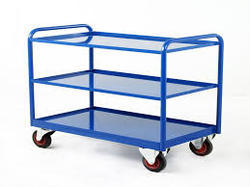 MS Fabricated Trolleys