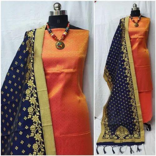 Heavy Banarasi Jacquard Suits
