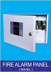 M S Body 4 Zone Fire Alarm Panel, RE 104