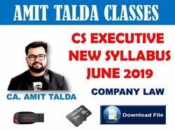 Company Law Video Lectures CS Executive in Jaistambh, Amravati