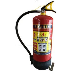 Mild Steel CO2 Based Andex ABC Powder Type Fire Extinguisher, Capacity: 9 Kg