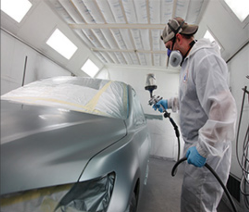automotive paint booths, automotive spray booth