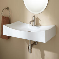 Ceramic White Wash Basin