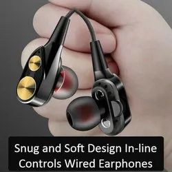 Seven X High Bass Ear Buds Wired Earphones With Mic