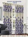 Blue R.M York Home Decorative Curtain Panel