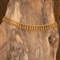 Matte Gold Plated Antique South Indian Belt With 202356, Size: Length = 40 Inch