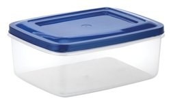 Rectangular Plastic Storage Container Crystal 7004