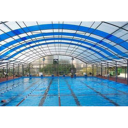 Swimming Pool Covering Polycarbonate Roof Sheet