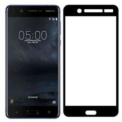 Nokia 5 full Screen Black Tempered Glass