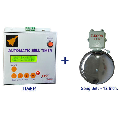 Automatic Gong Bell Timer