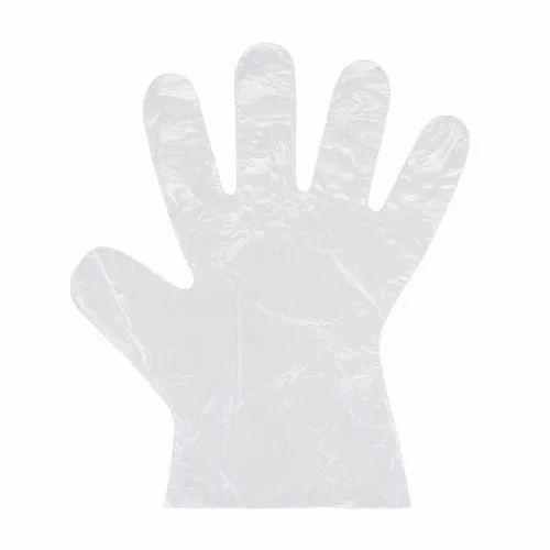 Polythene Disposable Hand Gloves