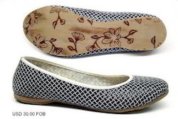 Woven Leather Slip On Shoes