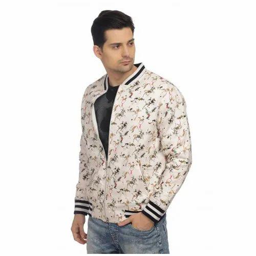 Full Sleeve Casual Mens Designer Jacket