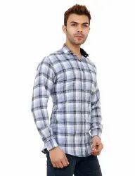 Full Sleeve Premium Cotton Check Shirt