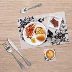 PP Table Mat with Coaster