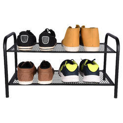 Black Antique Look Home Storage Rack