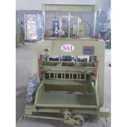 Sai Hollow Block Machine Stand Type