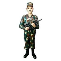 Army Man Statue