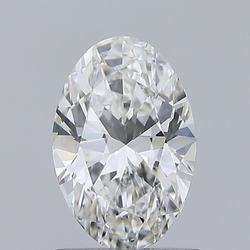 Oval Cut 1.00ct IGI Certified Diamond CVD G VVS1  Lab Grown Type2A