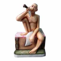 Gajanan Marble Statue