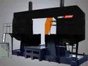 CHB 1800 DC Semi Automatic Bandsaw Machine