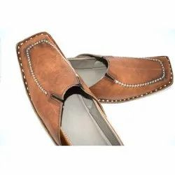 Mens Genuine Leather Ethnic Juttis