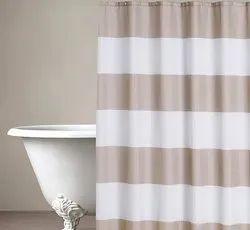 71 x 71 Inch Basic Dark Beige Shower Curtain