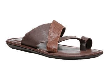 c9ed47a89207 Bata Brown Chappals For Men F871409400, Size: 7 10, Rs 1299 /piece ...