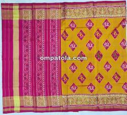 Pure Silk Single Ikkat Rajkot Patola Saree