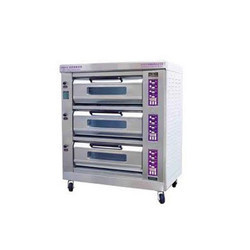 3 Deck Baking Oven (electric Oprated)