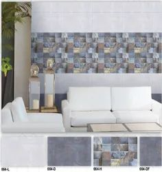 664  (L, D, H, DF) Hexa Ceramic Digital Wall Tiles