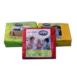 Plain Digital Soft Napkin, Size: 33x33 Cm