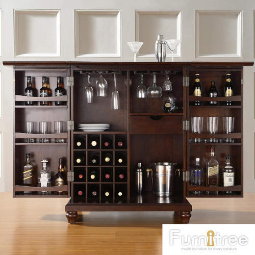 Polished Wooden Bar Counter For Home Rs 25000 Piece Furnitree